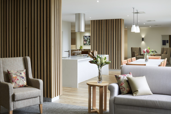 Home-like spaces with a luxury feel at BlueCross Box Hill