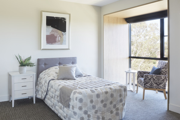 Light and bright contemporary bedrooms at BlueCross Box Hill