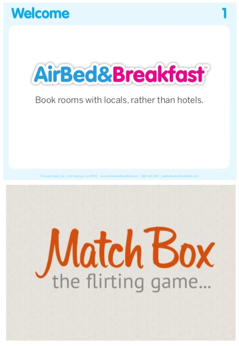 Great PowerPoint design resource, plus check out original Airbnb and
